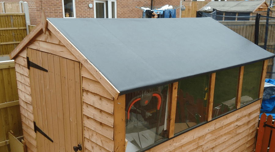 Shed Roofing Materials At B Q News From Permaroof Uk