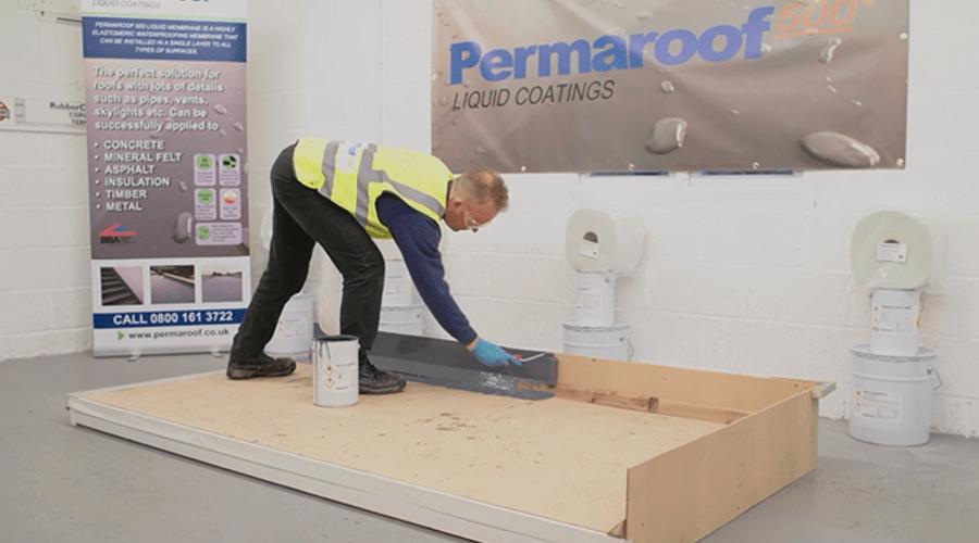 liquid roofing training