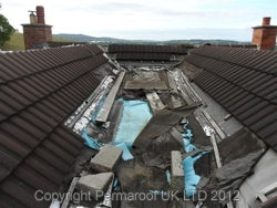 Flat Roofing Before | Permaroof Clients