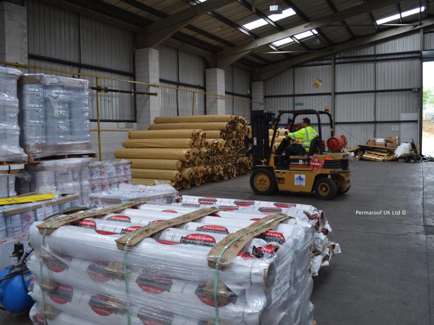 Firestone EPDM Membrane at Permaroof UK