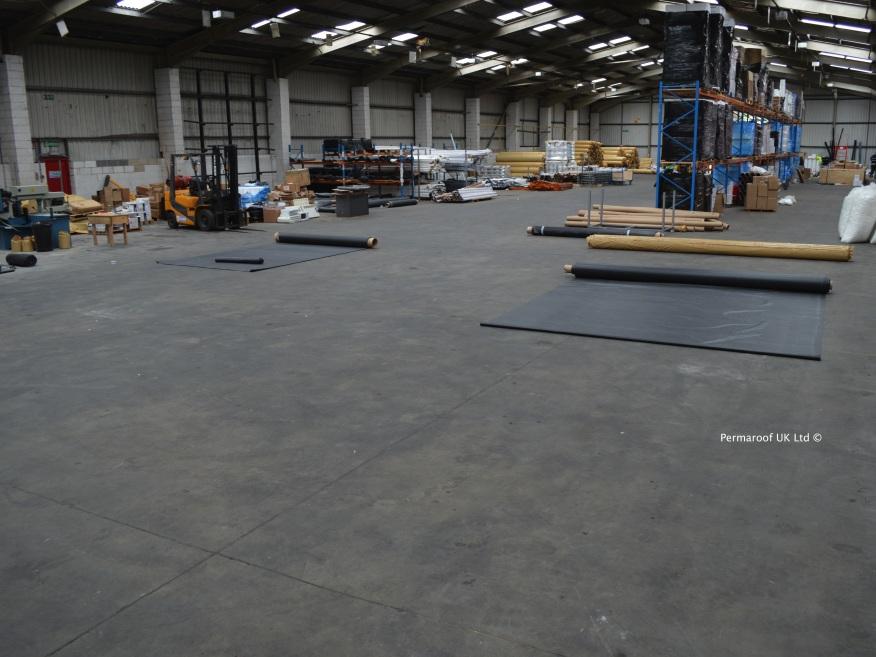 Firestone EPDM Rolls at Permaroof UK