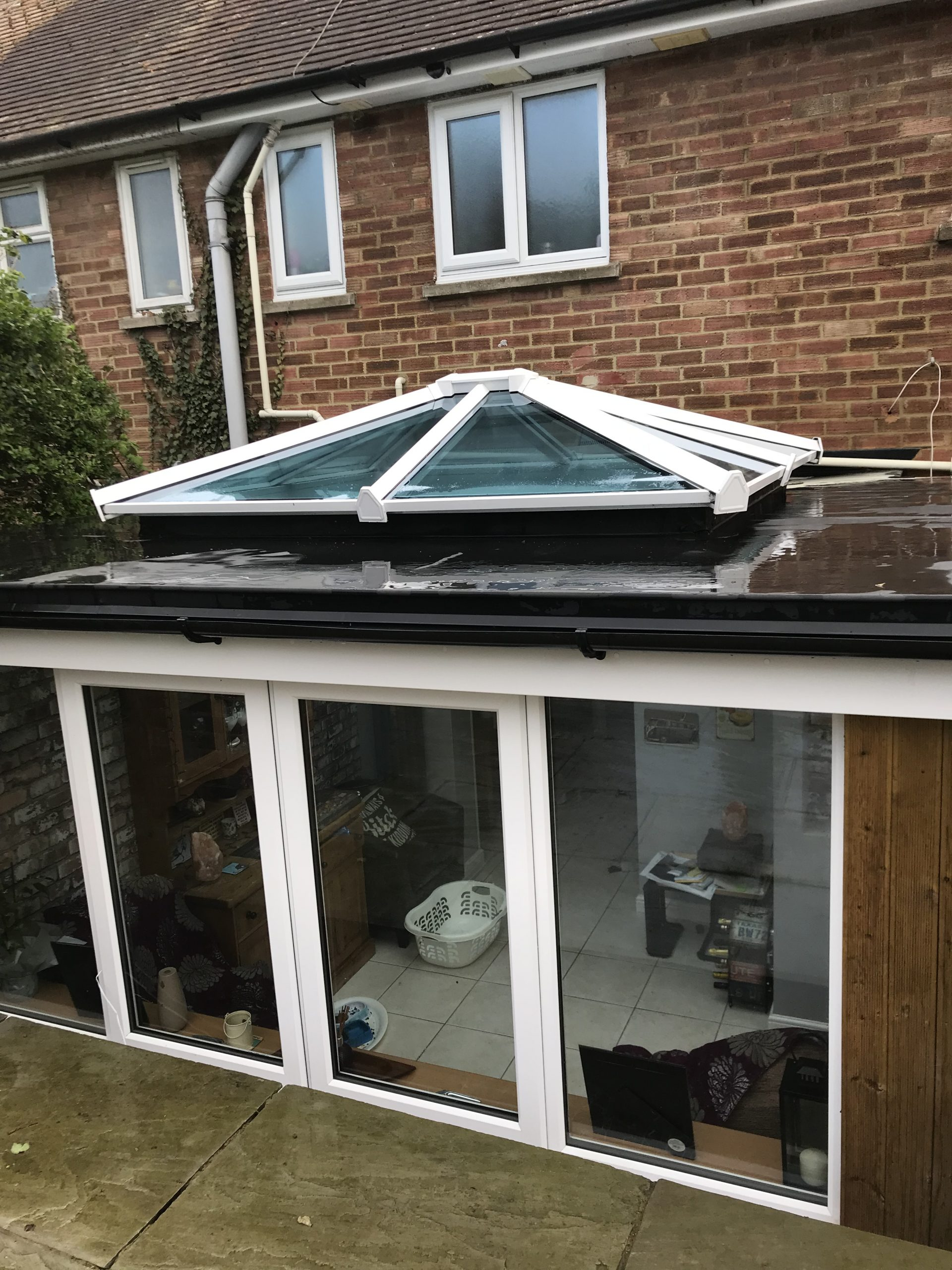 Brighton Skypod on flat roof extension