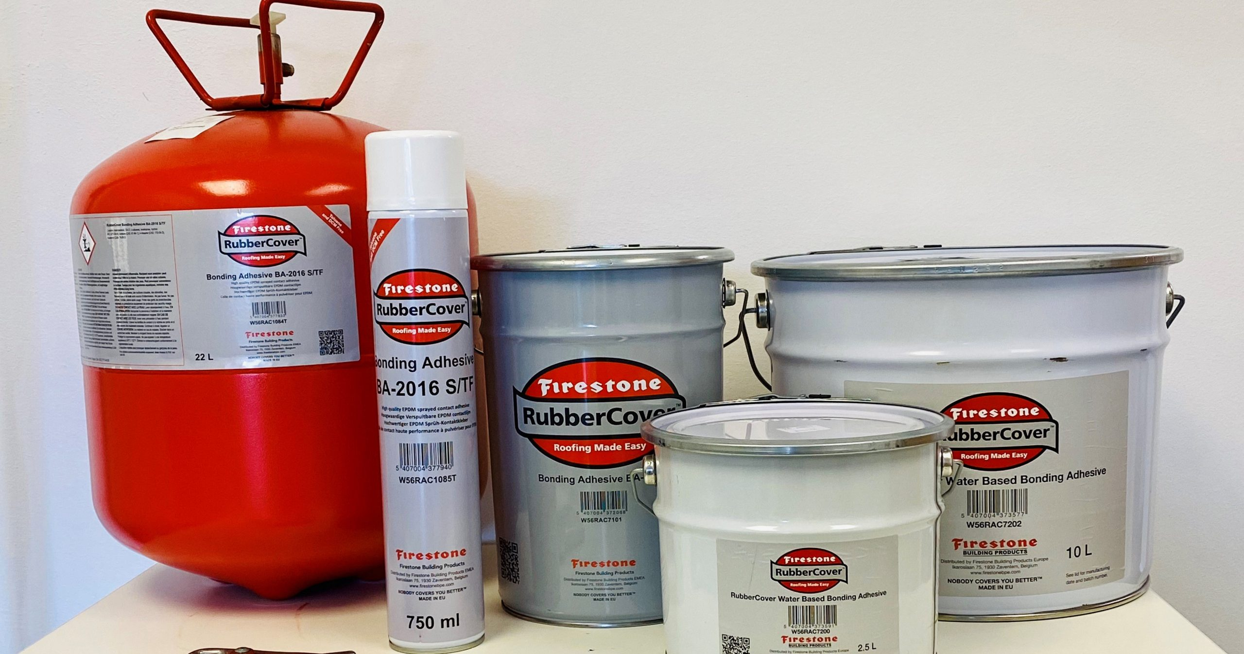 Firestone Adhesives for EPDM Membrane