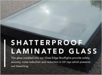PERMAROOF GLASS EDGE ROOFLIGHT