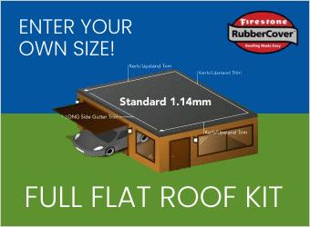 Permaroof EPDM Flat Roof Kits