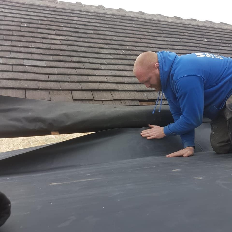 Permaroof Wakefield - Roof Repairs - During
