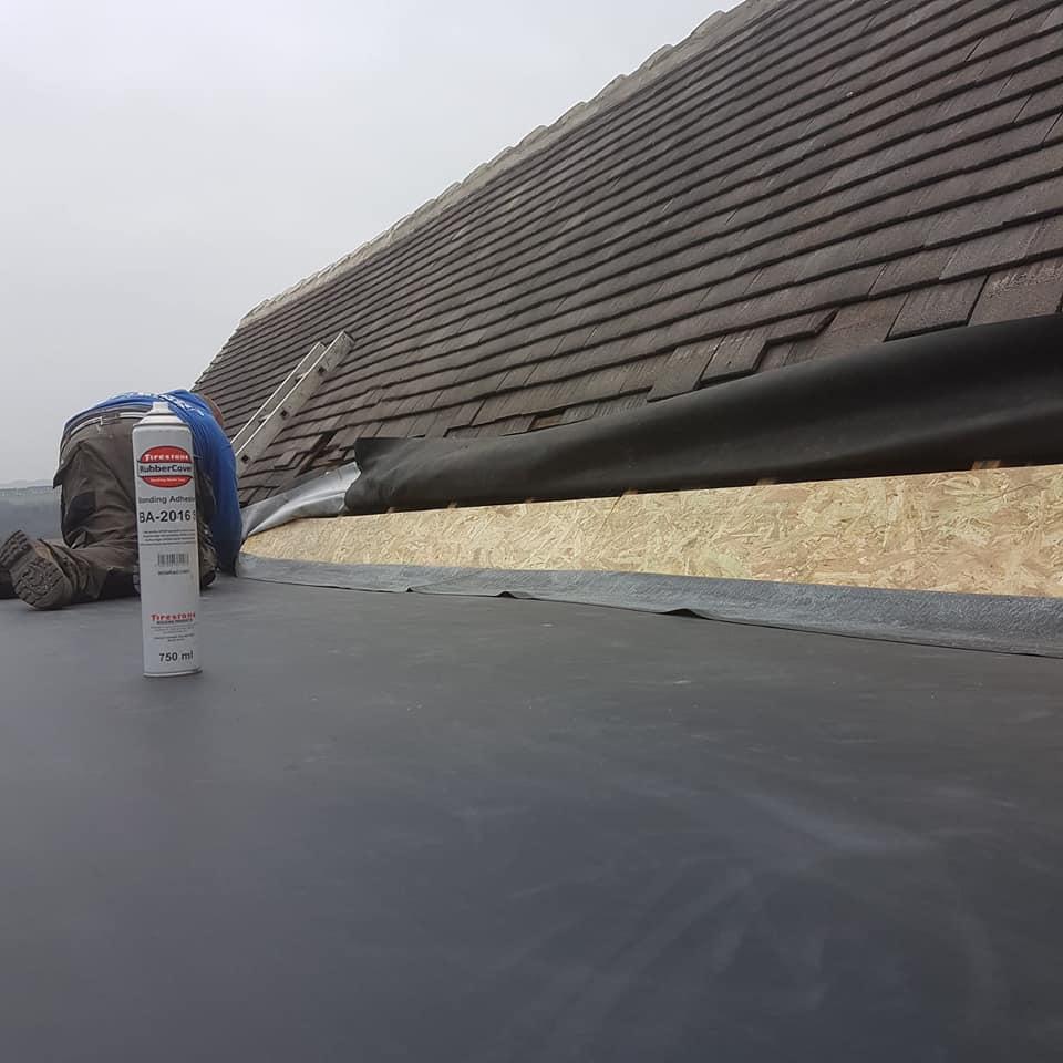 Permaroof Wakefield - Flat Roof Repairs - During