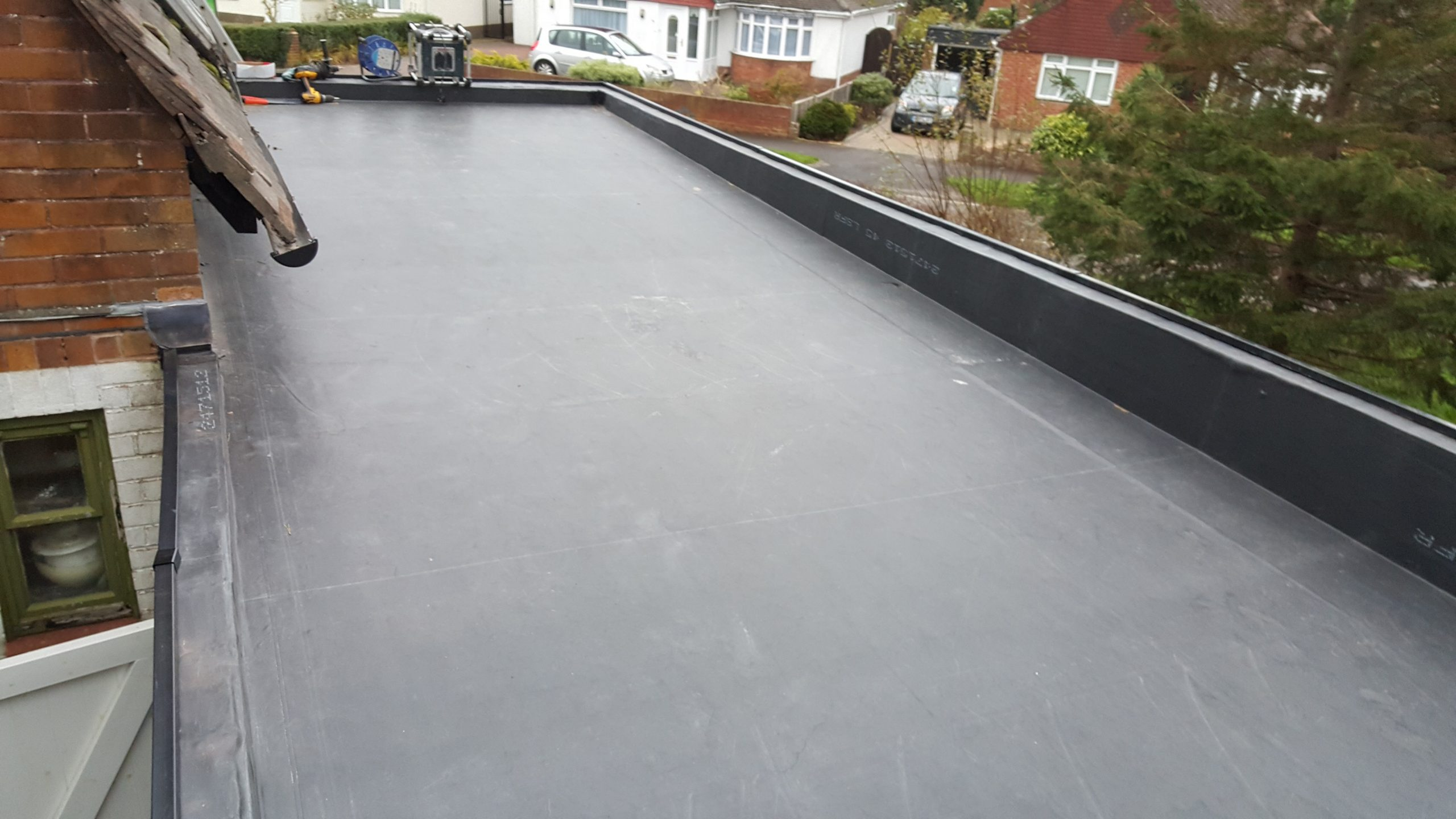 Portsmouth New EPDM Roof System