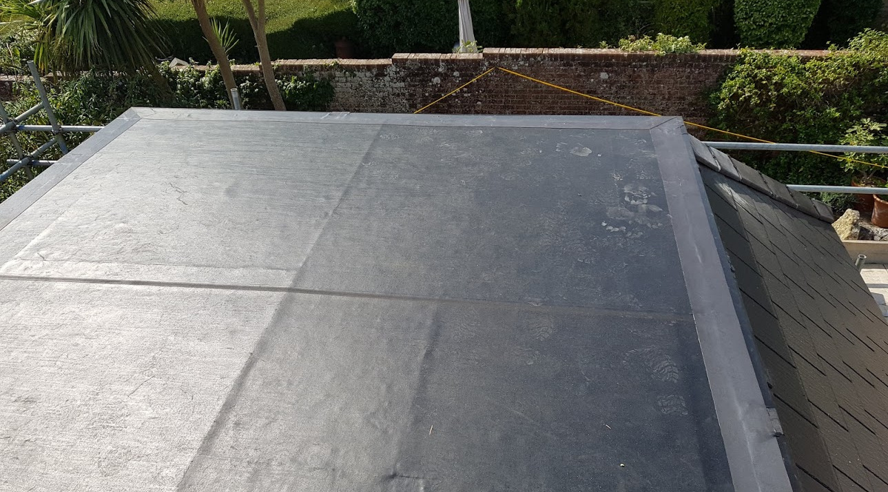 SealEco RubberTop fleece installation