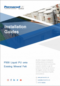 P500 onto Existing Mineral Felt