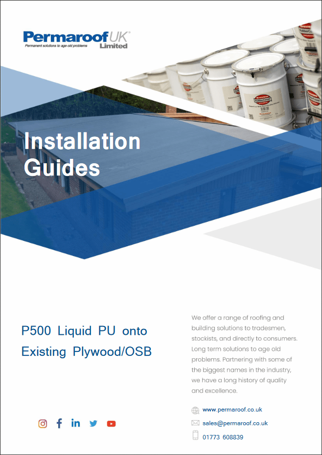 P500 onto Existing Plywood or OSB