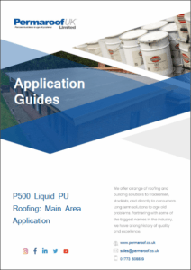 Download your P500 Main Area Application Guide | Permaroof Roofing Resources