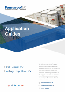 Download your P500 Liquid PU Topcoat UV Application Guide | Permaroof Roofing Resources