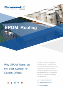 Why EPDM is the Best System for Garden Offices | Permaroof Resource Library