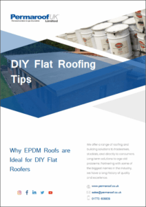 Why EPDM Roofs are Ideal DIY Flat Roofers | Permaroof Resource Library