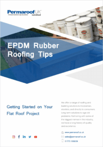 Getting Started on Your EPDM Flat Roof Project | Permaroof Resources