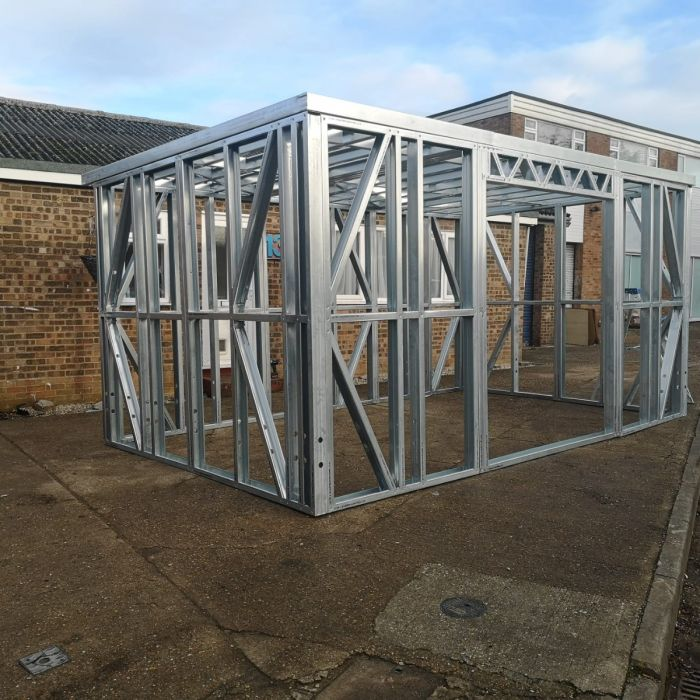 Galvanised Steel Framed Buildings | Garden Rooms with a Difference