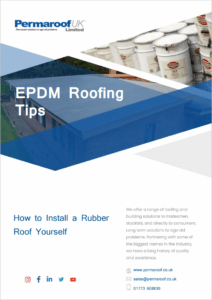 How to Install a Rubber Roof Yourself | Permaroof UK